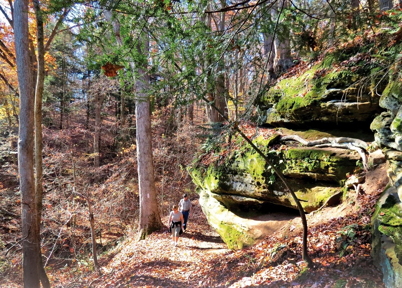 Mohican Hike fade