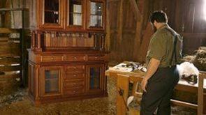 Amish furniture building
