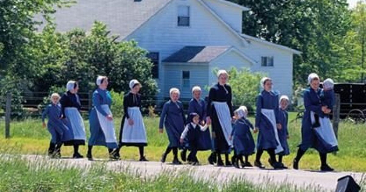 An Amish Woman S Role In The Family Ohio S Amish Country
