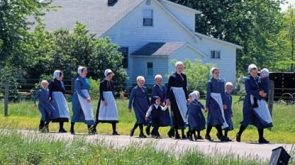 An Amish woman's role in the family