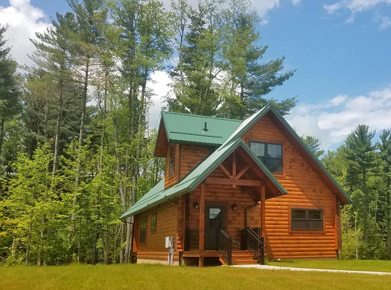 Log cabin standard 8