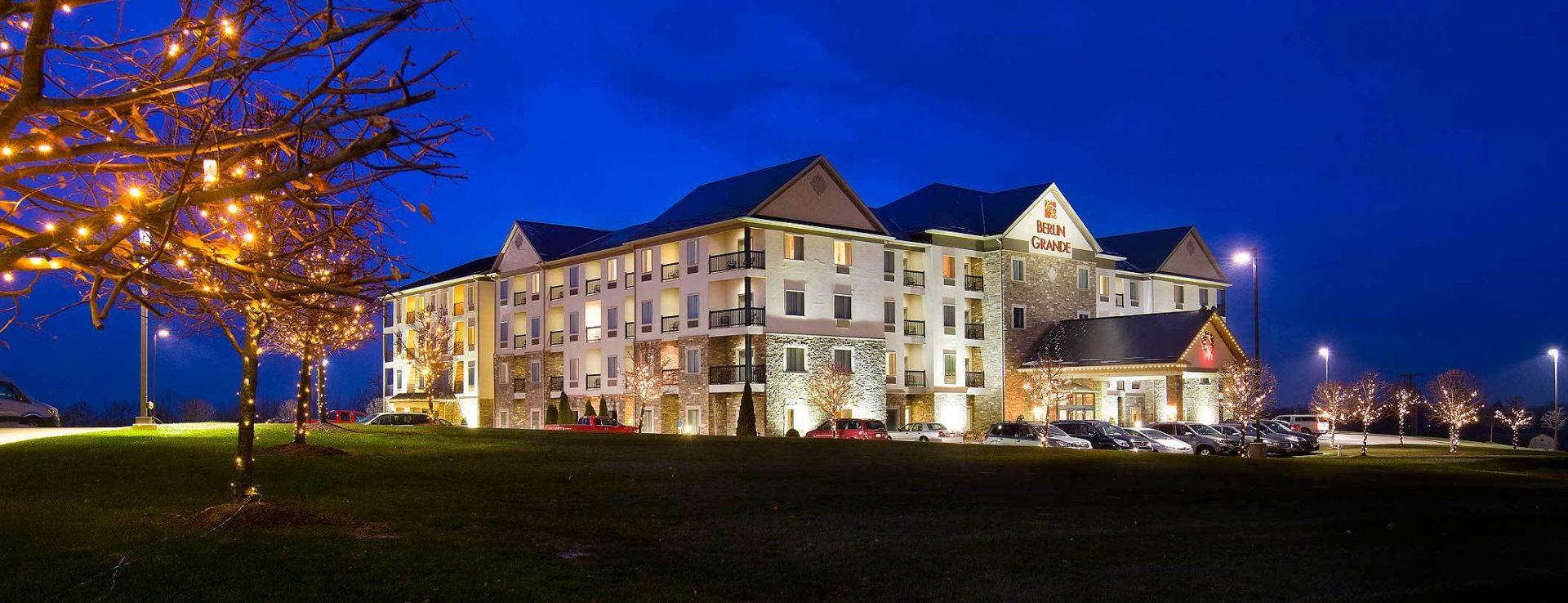 Berlin Grande Hotel Ohio S Amish Country