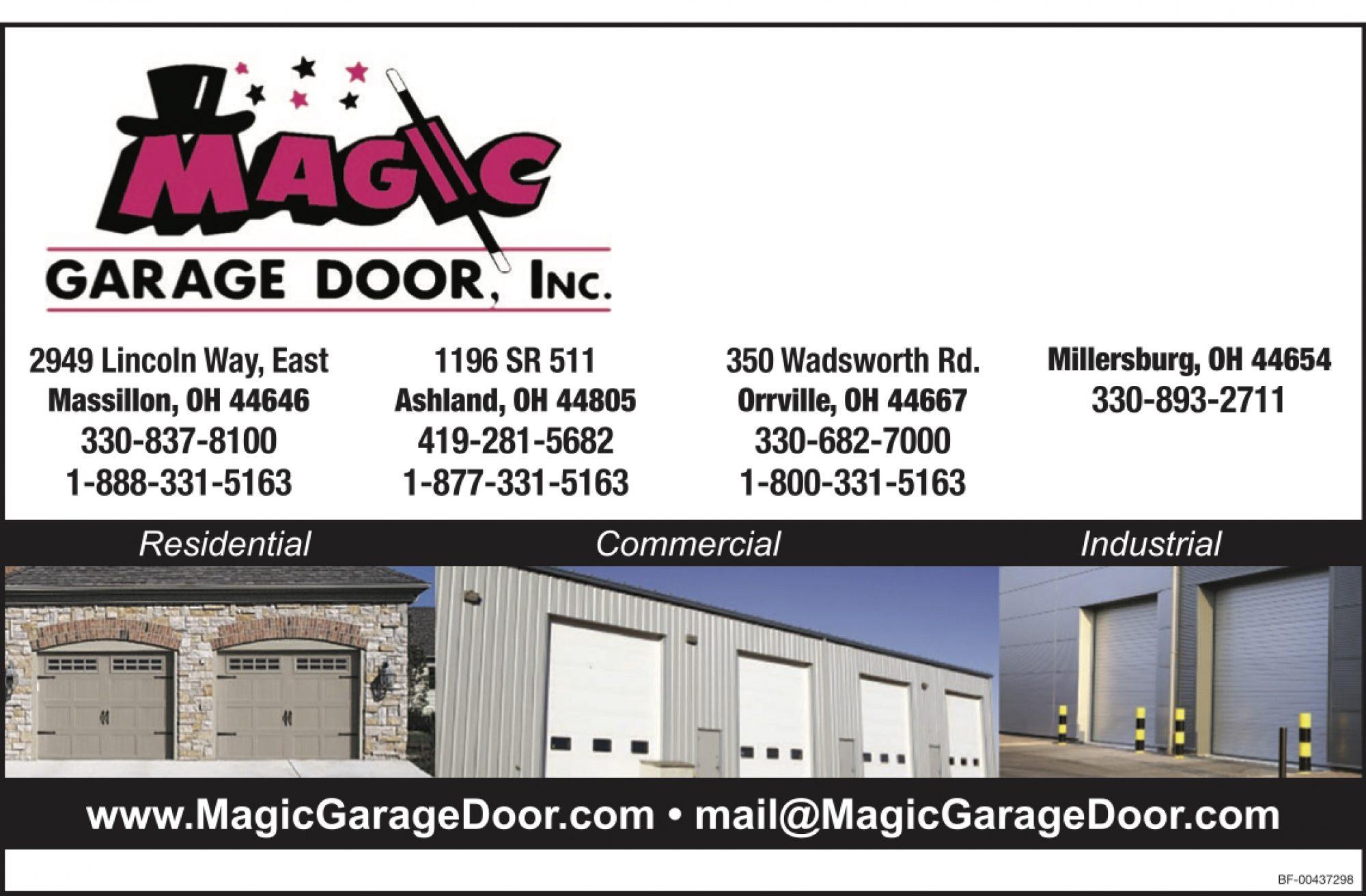Magic Garage Door Inc Ohio S Amish Country
