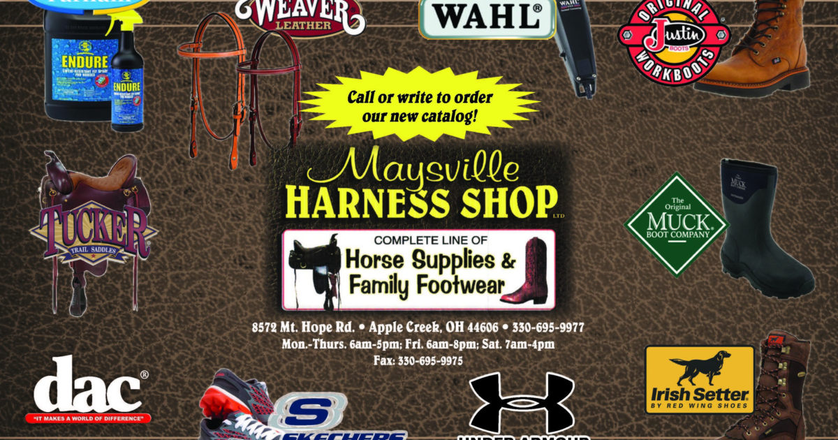 Maysville Harness Shop Ltd Ohio S Amish Country