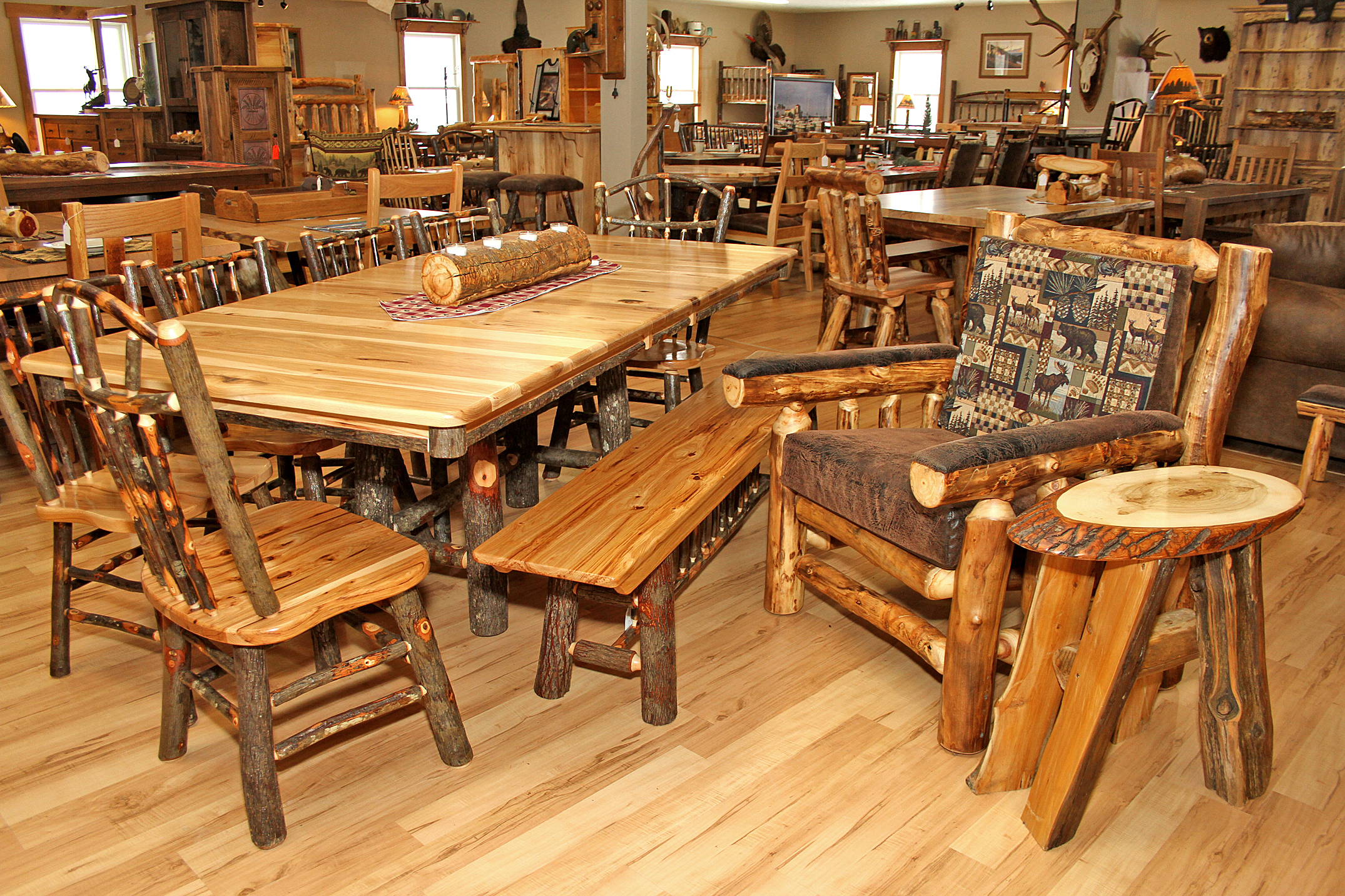 Miller S Rustic Furniture Ohio S Amish Country