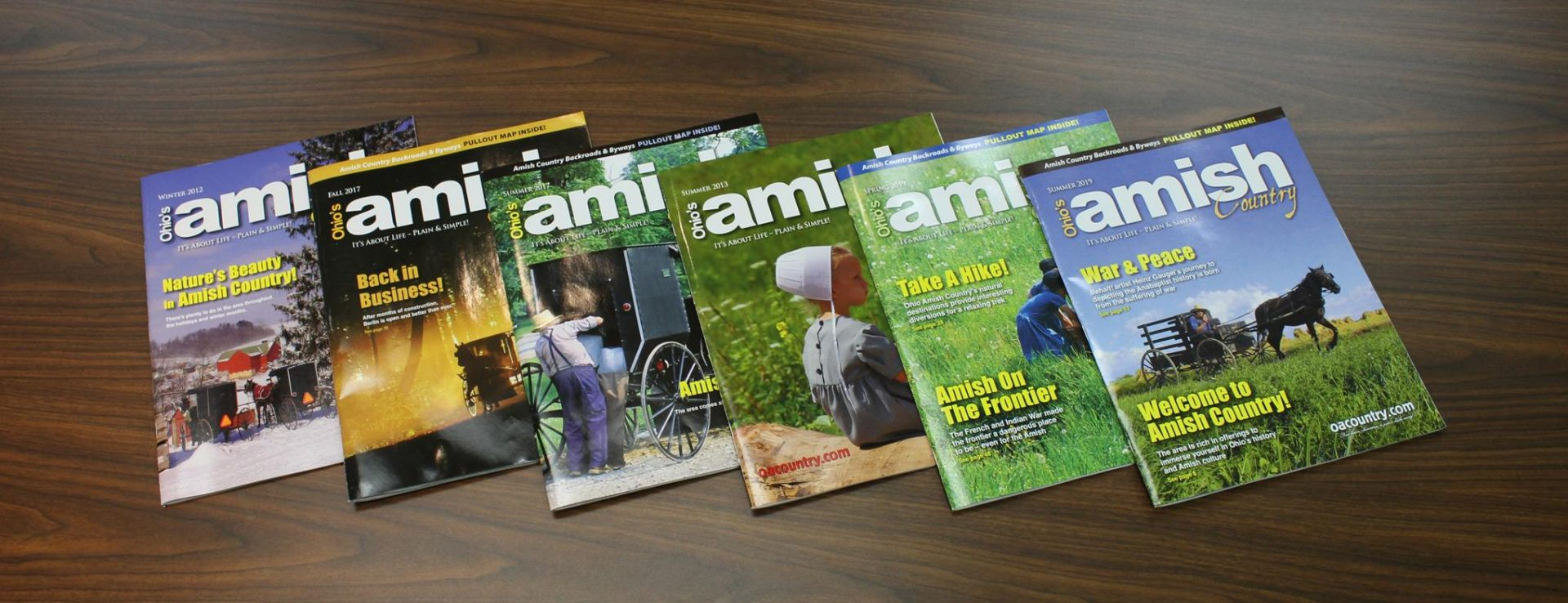Ohio's Amish Country Magazine   Ohio's Amish Country on map of amish in indiana, map of oh amish, map of amish communities,