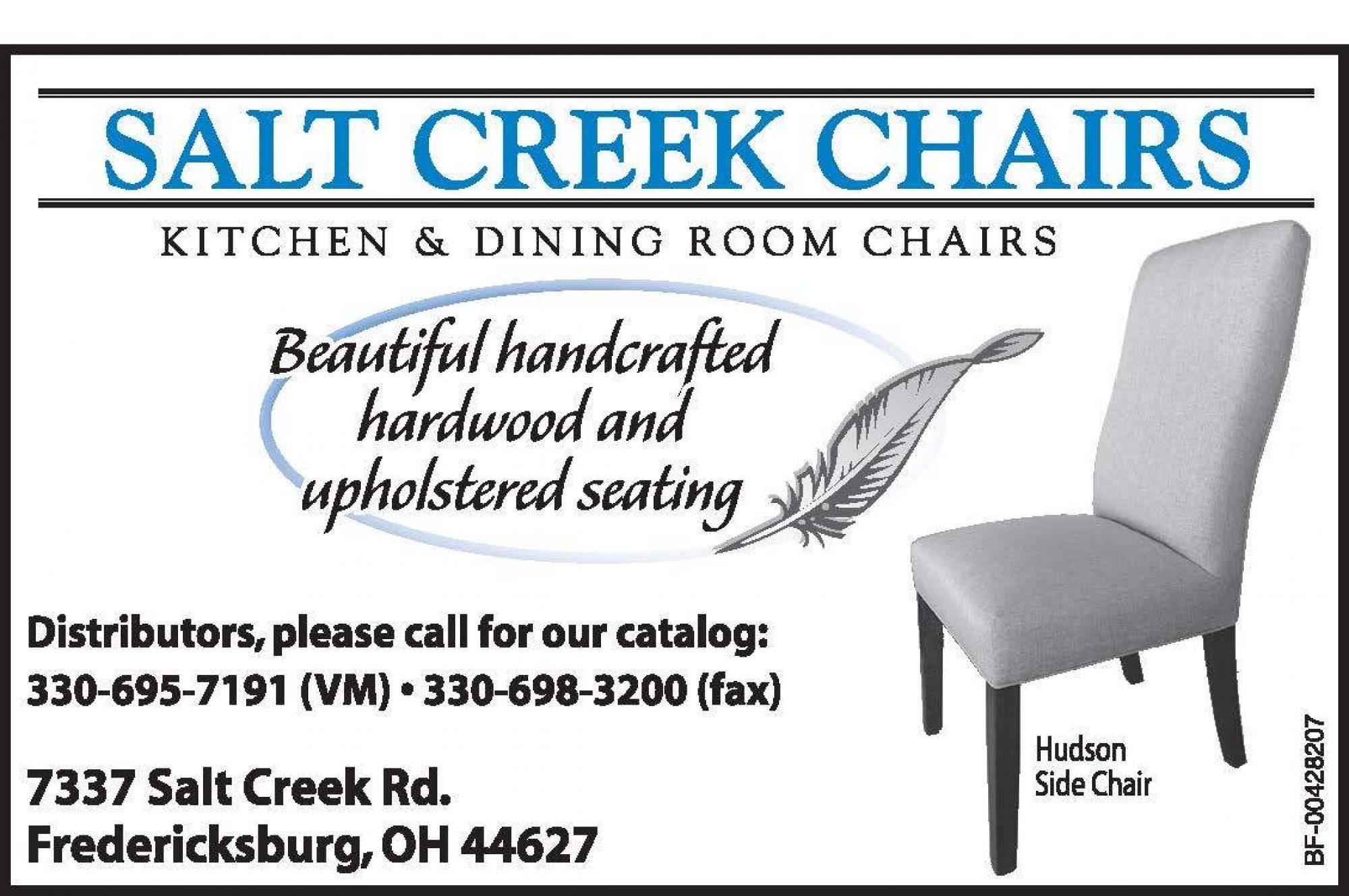 Salt Creek Chairs | Ohio's Amish Country