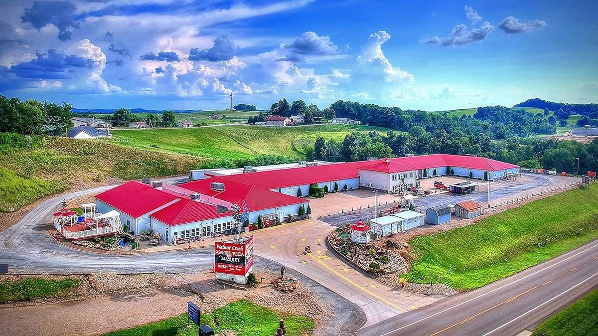 Walnut Creek Amish Flea Market Ohio S Amish Country