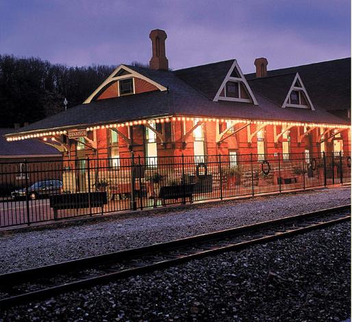 Fall Train Rides at the Dennison Depot