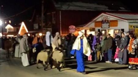 Live Nativity Parade