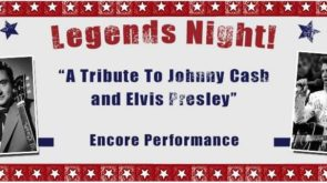 Legends Night - A Tribute to Johnny Cash and Elvis Presley