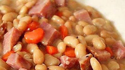 Amish Style Ham and Bean Soup