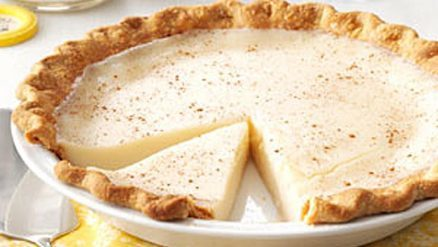 Amish Sugar Cream Pie