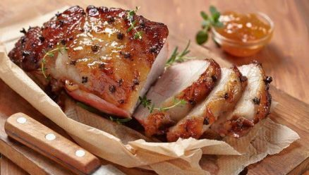 Apricot Glazed Pork Roast