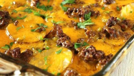 Beef and Potatoes Casserole