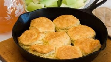 Cast Iron Skillet Biscuits