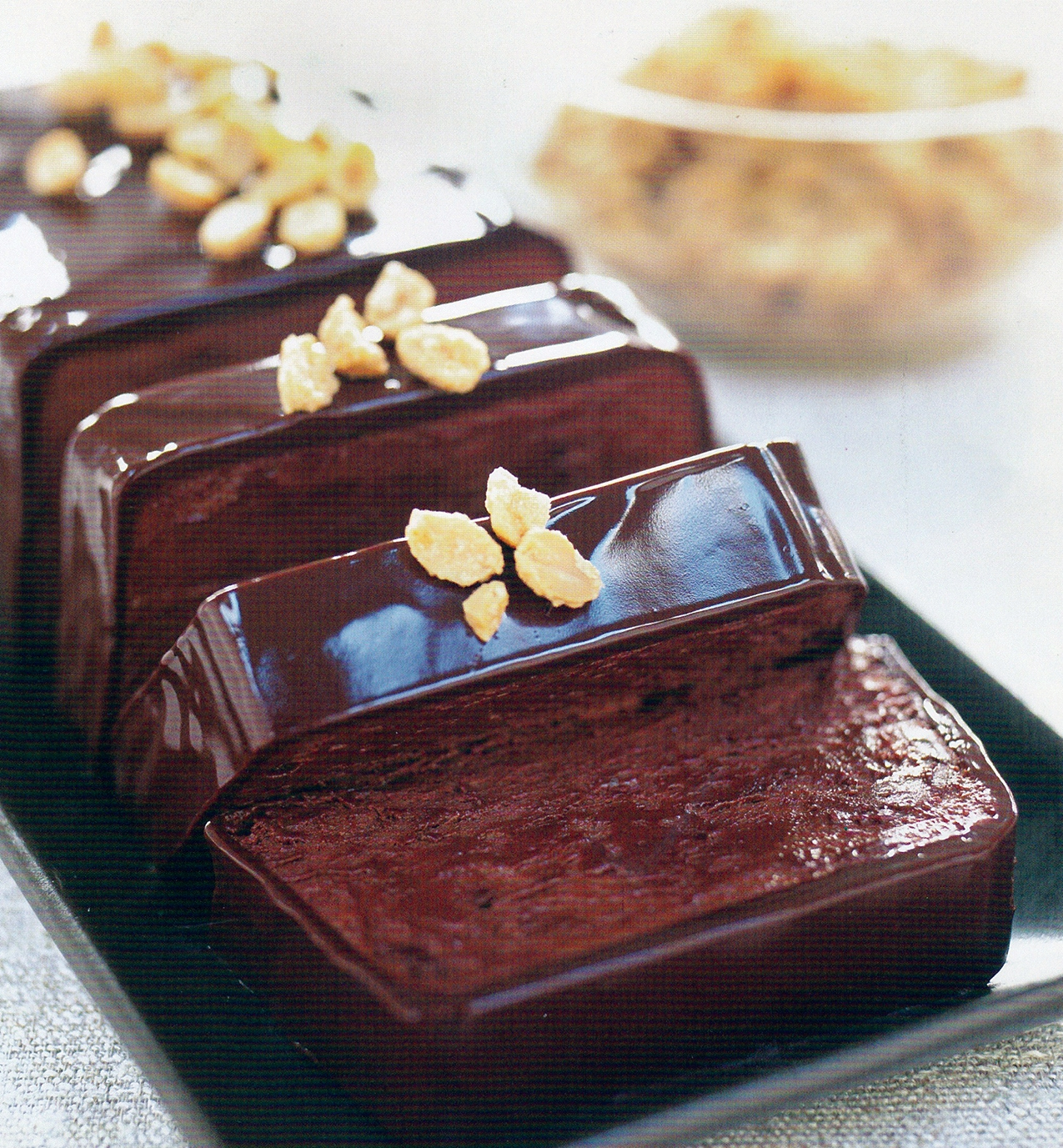 Chocolate-Peanut Butter Terrine