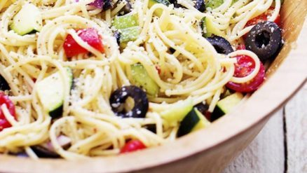 Country Style Spaghetti Salad