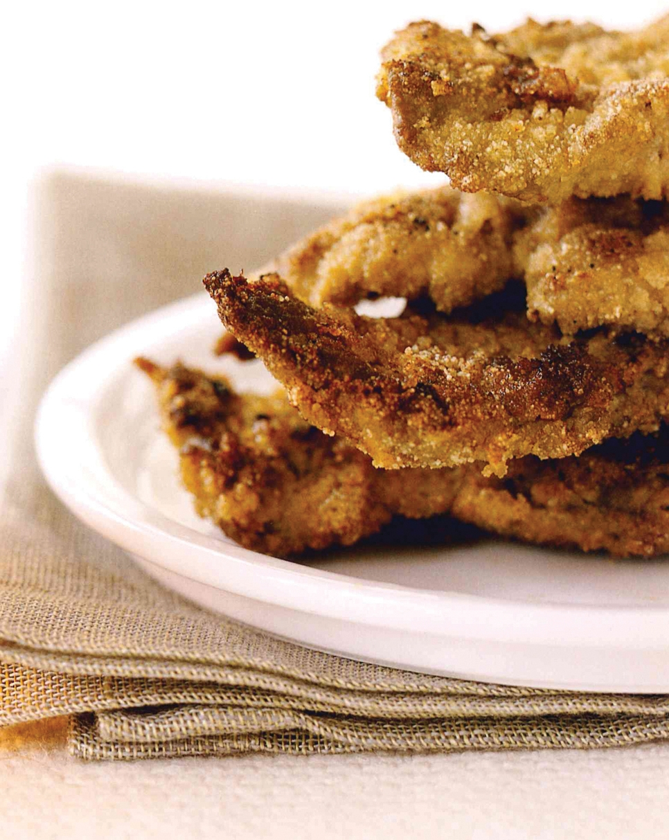 Fried Green Beef