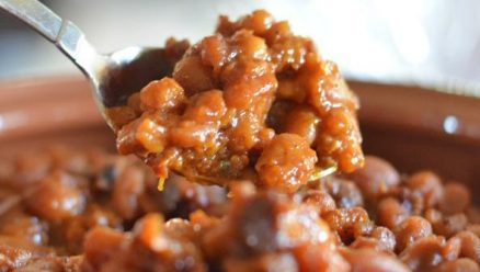Homemade Amish Style Baked Beans