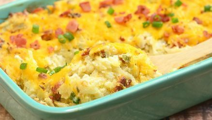Loaded Cheesy Potatoes