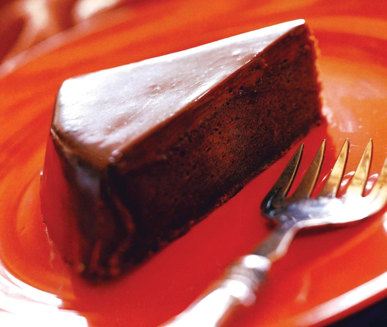 Milk Chocolate Torte with Assam Tea Ganache