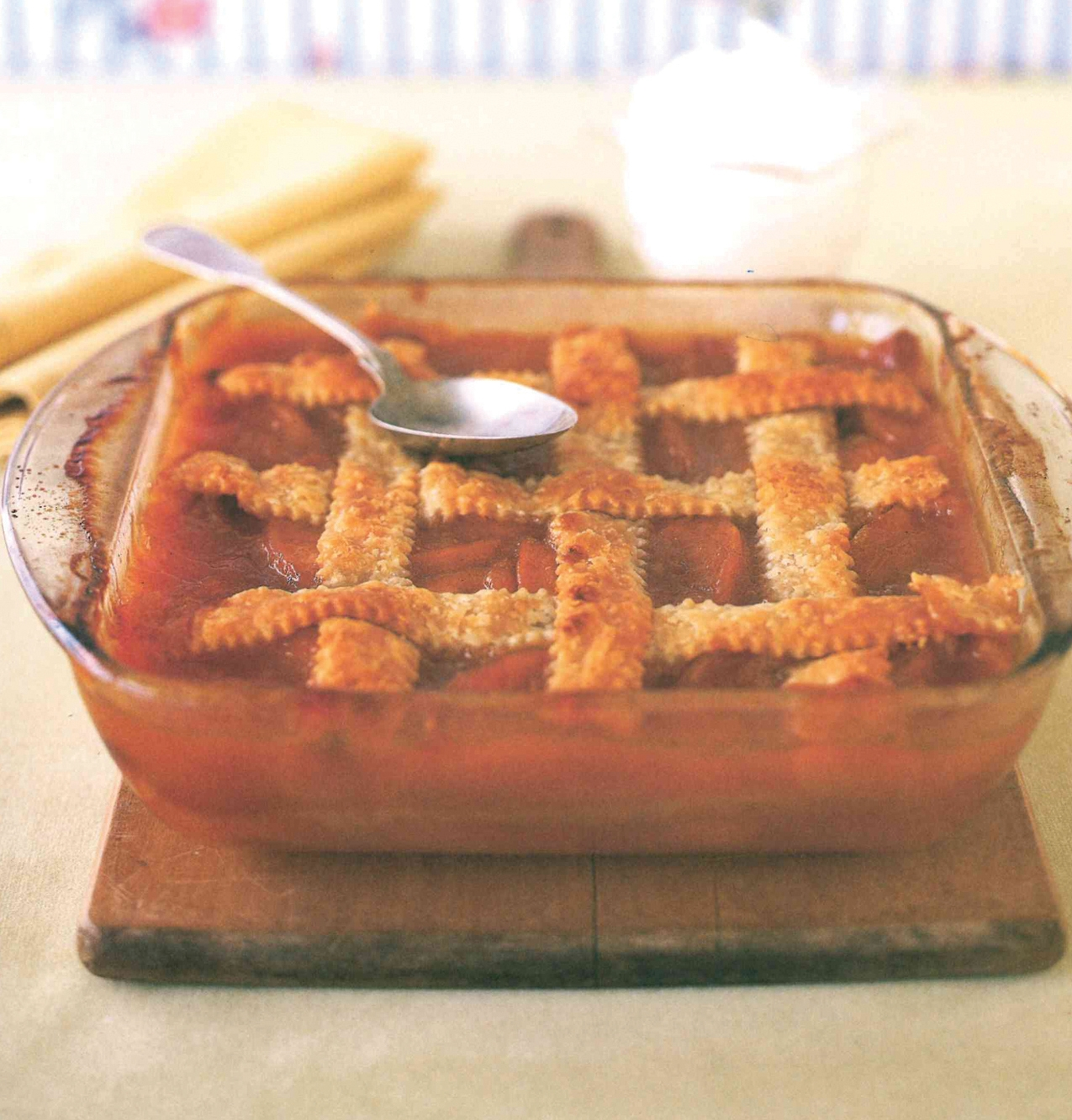 Miss Ruthie's Old-Fashioned Peach Cobbler
