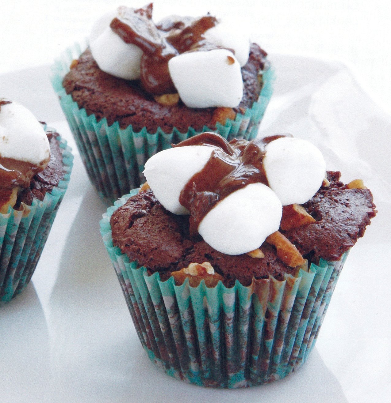 Mississippi Mud Baby Cakes