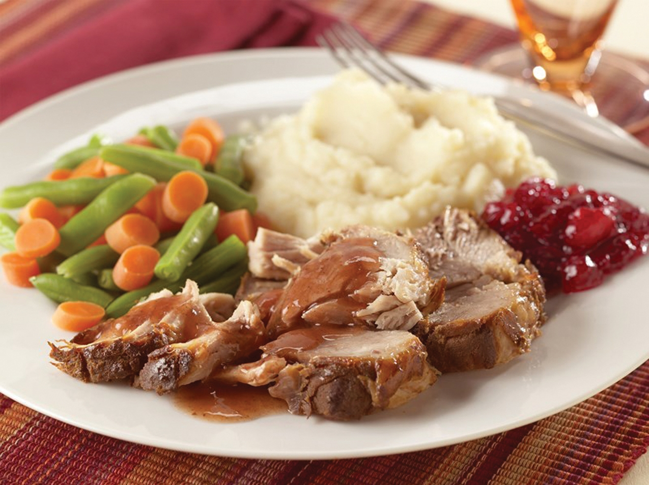 Slow Cooker Spiced-Cranberry Pork