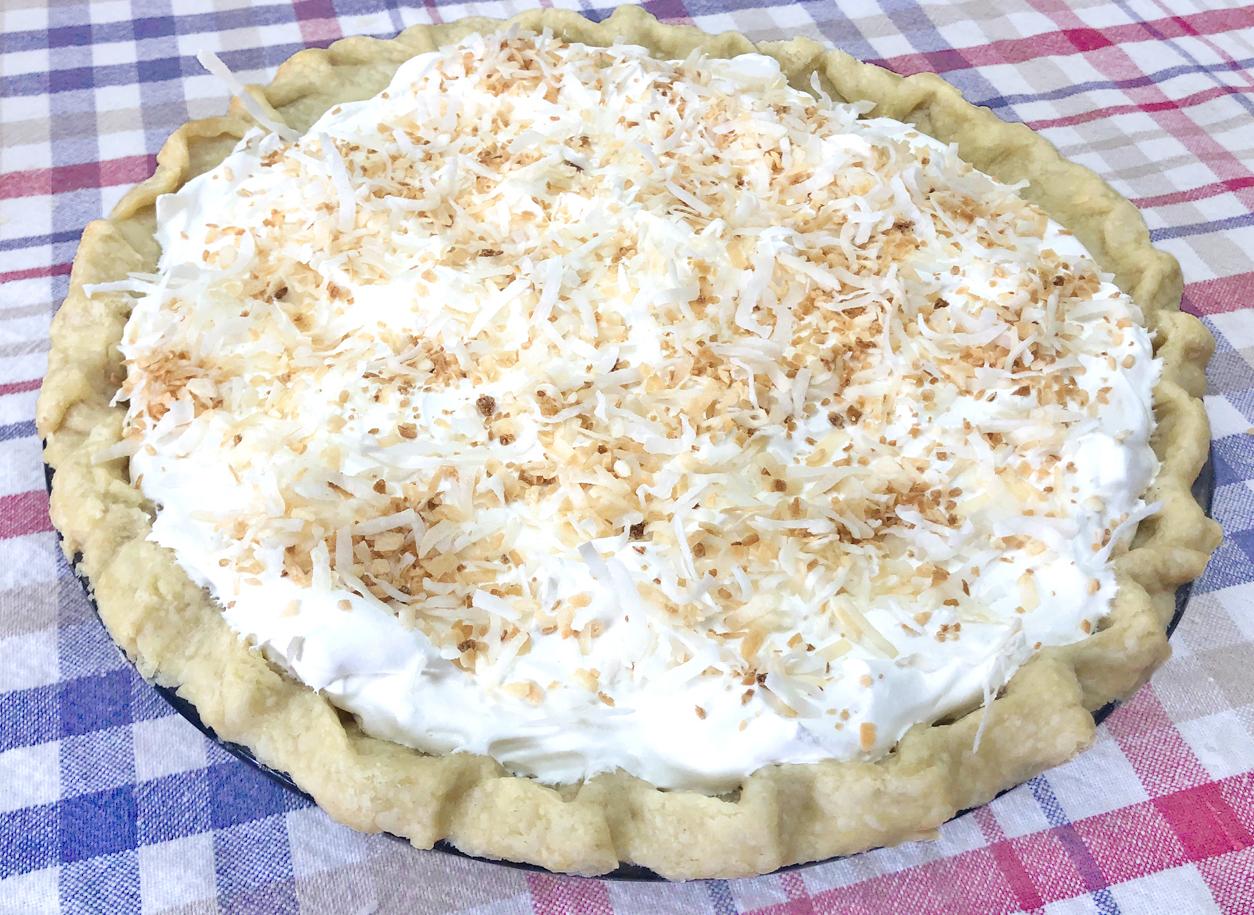 Kathy's Coconut Cream Pie