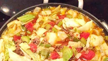 Crock Pot Cabbage Soup With Hamburger